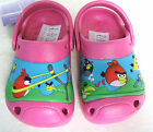 NEW GIRLS HOLIDAY GARDEN CLOGS BIRD BEACH SANDALS WATER SHOES SIZE UK 6 7 8 9 10
