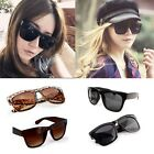 Fashion Retro Unisex Women Men Wayfarer Cool Black Lens Frame Sunglasses Hot