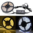 5M 3528 5050 60LEDs/m Flex LED Strip Light Bar Roll Rope Tape Home Kitchen Party