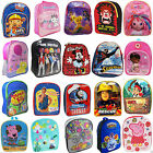 NEW KIDS BACKPACK RUCKSACK CHILDRENS TODDLERS DISNEY CHARACTER LUNCH SCHOOL BAG