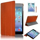 BROWN SMART CASE COVER FOR APPLE IPAD MINI/2 WITH SCREEN GUARD BUILT IN STAND