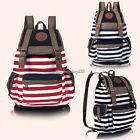 HOT Ladies Canvas Large School Bag Women Girls Backpacks College Rucksacks
