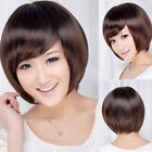 New Womens Sexy Cosplay Fashion Short Straight Wig Hair Party Wigs Brown/Black
