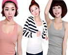 stone Basic Tanks Top Candy Color Easy-Matching Sexy Women Slim Camisole Vest