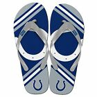 Indianapolis Colts NFL Football Unisex Logo Flip Flops NEW Sandals