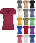 WOMENS COWL NECK  LADIES SHORT SLEEVE TOP UK SIZE 6-20