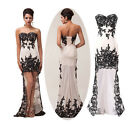 New Sexy Lace Prom Ball Cocktail party wedding dress Bridal Formal Evening 4-20
