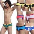 Hot Sell Sexy Men U-design Low Rise Boxer Brifes Shorts Trunks Pants Underwear