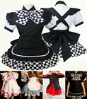Vintage Gothic Lolita Pink Satin Japanese Cosplay Fancy Dress Costume Styles