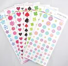 Diary Seal Transparent Sticker Sheet (Your Choice of Shapes)~KAWAII!!