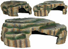 Vivarium Reptile Rock Aquarium Fish Cave Ornament Terrarium Decoration 3 Sizes