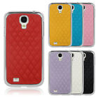 Luxury PU Leather Hard Chrome Case Cover For Samsung Galaxy S4 S IV i9500 i9505
