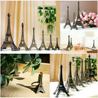 Bronze Tone Paris Eiffel Tower Figurine Statue Vintage Model Decor Alloy 6 Sizes