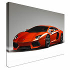 Lamborghini Aventador supercar sport Canvas Wall Art Print Large + Any Size