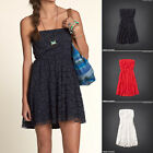 Hollister by Abercrombie - Womens Swami's Beach Strapless Lace Dress XS S M L