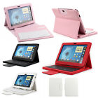 For Samsung Galaxy Tablet 7.0 8.0 10.1 Detachable Leather Wireless Keyboard Case