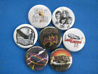"Led Zeppelin Necklace or Pinback Buttons set 7 SELECT A SIZE 1"", 1.25"" or 2.25"""