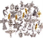 """100g(about 80pcs) Lots Mixed """" Angel Fairy People """"Charms Pendants New"""