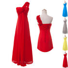 New Long Cocktail Party Ball Gown Formal Evening Wedding Bridesmaid Prom Dress