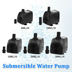 New Submersible Pump Aquarium Pond Fish Tank Powerhead Fountain Water Hydroponic