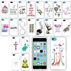 For Apple iPhone 5C Light Lite Art Design Image PATTERN HARD Case Phone Cover