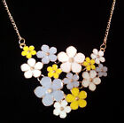 Lot New 2014 Fashion jewelry luxury Vintage Gold Flower Necklace