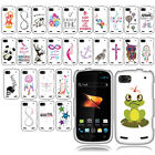 For ZTE Warp Sequent N861 Art Beautiful Design PATTERN HARD Case Phone Cover