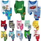 Cotton Sleepwear Pajama Sets for Baby Toddler Kids Boys Girls, Size: 2T-7T