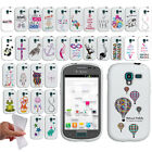 For Samsung Galaxy Exhibit T599 Art Design TPU SILICONE Rubber Case Phone Cover