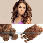 "New 50g Virgin Brazilian Natural Wave Human Hair Weft Extensions 16"" 18"" 20"" #9"
