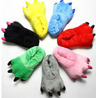 Bear Animal Soft Paw Claw Slippers Shoes Dinosaur Panda claw Plush warmth