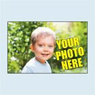 Personalised Rectangle Photo Stickers. 2 sizes. Add your own photograph