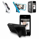 Stylé Slim Bureau Support Stand Étui Pour Apple iPhone 4+Rigide Port Housse
