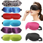 10 Color Sleeping Travel Eye Mask Blindfold Test Relax Sleep Cover Eye Patch New