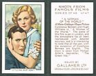 Gallaher - Shots From Famous Films 1935 #1 to #48 Film/Movie Cards (from £0.99)
