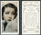 Hill - Cinema Celebrities (Anon) 1936 #1 to #35 Film/Movie Cards (from £0.99)