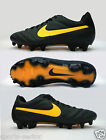 Nike Tiempo Legend IV FG Firm Ground Mens Football Boots Charcoal Size 8,5-12