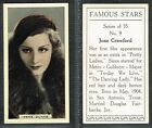 Reliance - Famous Stars 1934 #1 to #35 UK Film/Movie Cards (£2.50 each)