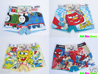 6PCS Cotton Boxer Briefs Underwear Underpants for Toddler & Boys Kids 3T-9T