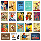 Vintage / Retro Signs Repro A3 or A4 Posters Old Style wall home decor Print