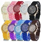 Watch w01 Casual Unisex Quartz watch Sports Watches silicone watch jelly color