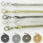 70cm(28inch) Iron Corn Chain Necklace Lobster Clasp 2.4mm/3.2mm 5 Colors  Lots