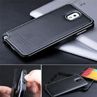 Super Luxury Aluminum Genuine Cow Leather Case Cover For Samsung Galaxy S5 I9600