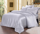 7 PCS 19MM SEAMLESS 100% SILK BEDDING & SILK COMFORTER BED IN A BAG KING SIZE