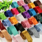 Fashion Men Solid Candy Color Bright Casual Party Office Wedding Tie 5 *145 CM