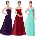 Ever Pretty Long Winter Evening Bridesmaid Formal Party Prom Gowns Dresses 09568