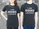 * I AM SHERLOCKED T-shirt Top Sher Locked Sherlock Holmes Fashion Shirt *