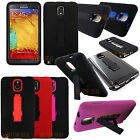HEAVY DUTY RUGGED HYBRID CASE STAND COVER FOR SAMSUNG GALAXY NOTE III 3 N9000