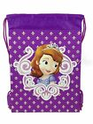 Disney Drawstring Collection - Frozen Sofia School Sport Gym Tote Bag Backpack