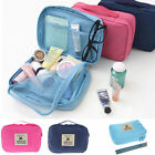 Waterproof Travel Toiletry Zipped Cadse Makeup Bag Zipper Organizer Pouch 3Color
